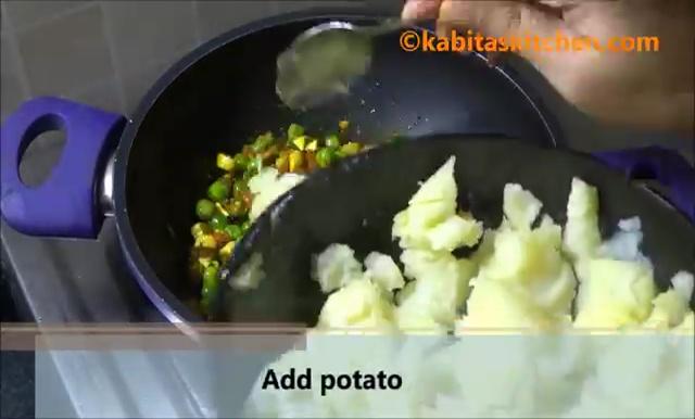 Potato Stuffed Bread Roll Recipe (12)
