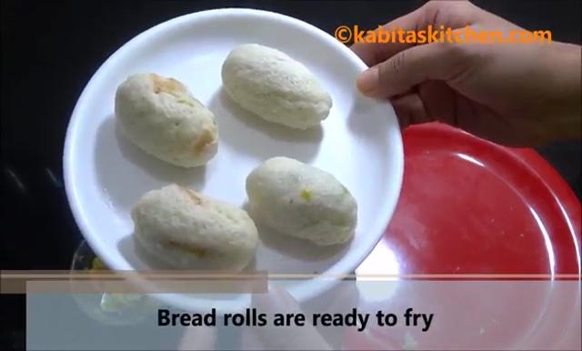 Potato Stuffed Bread Roll Recipe (25)