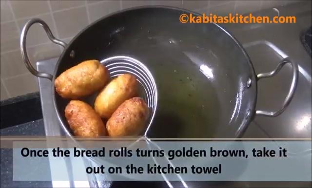 Potato Stuffed Bread Roll Recipe (30)