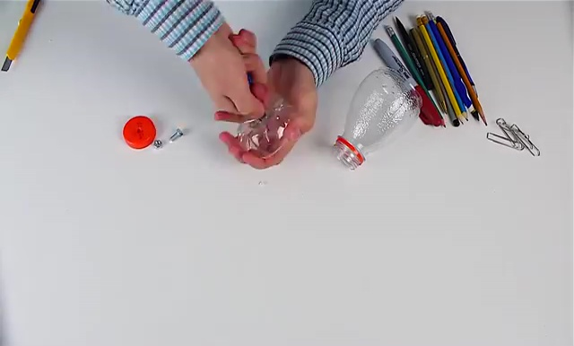 Recycled Plastic Bottle Craft (29)