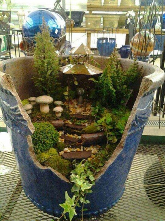 DIY Garden Ideas 37 Recycled Stuff Gardening And