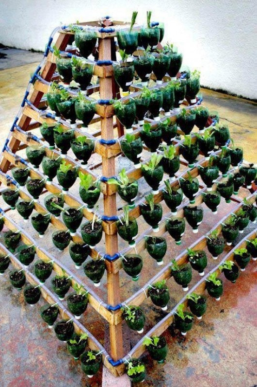 Recycled Garden Ideas Plastic Bottles