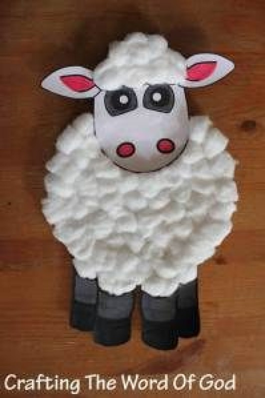 Diy Animal Crafts Sheep Craft Ideas For Kids
