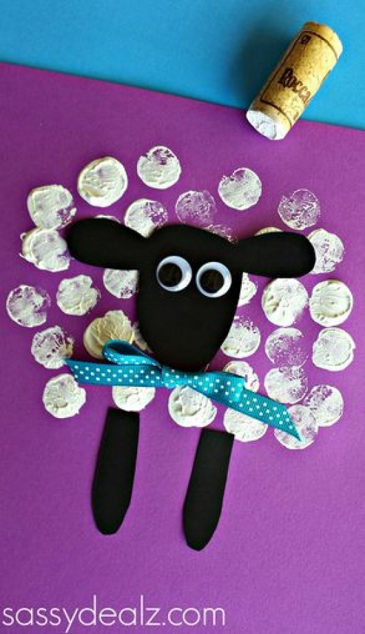 DIY Animal Crafts: Sheep Craft Ideas for Kids