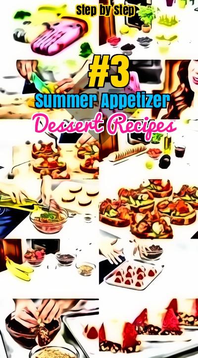 Summer Appetizer popsicle Dessert Recipes