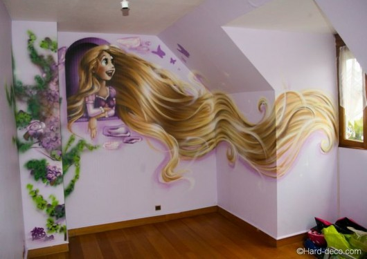 everything tangled rapunzel amp eugene themed party ideas rapunzel s room castle in clarenscastle in clarens