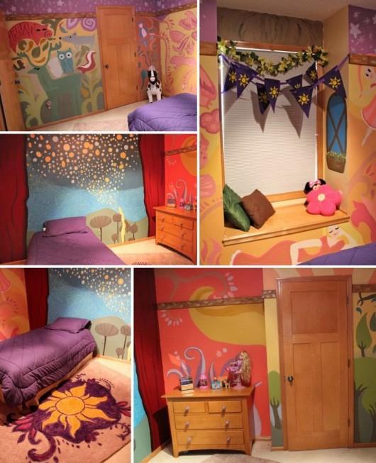 Tangled Rapunzel Bedroom