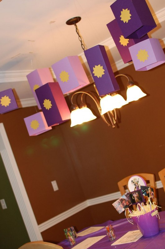 Everything Tangled Rapunzel Eugene Themed Party Ideas Diy Craft