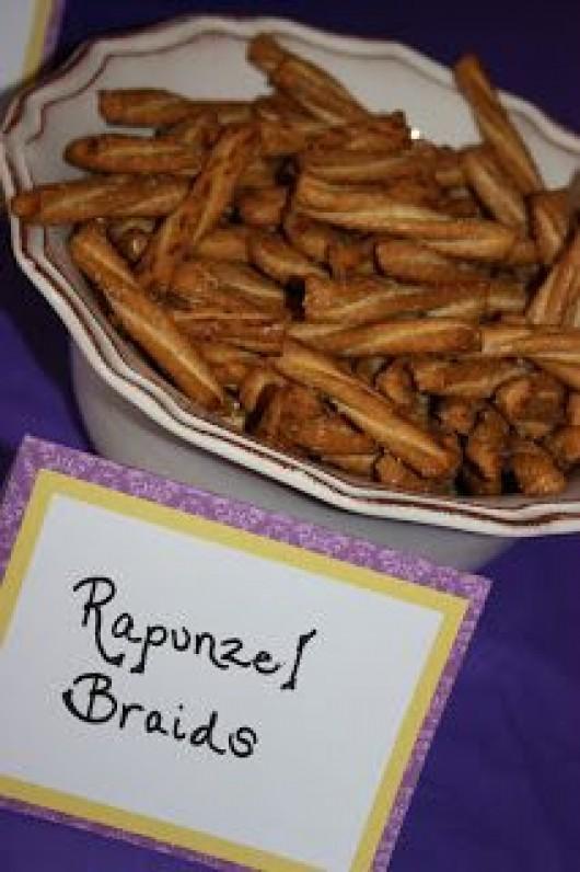 Rapunzel Braids Party Food Ideas