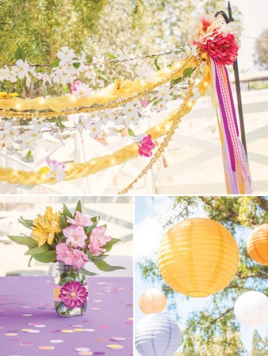 Everything Tangled Rapunzel Eugene Themed Party Ideas