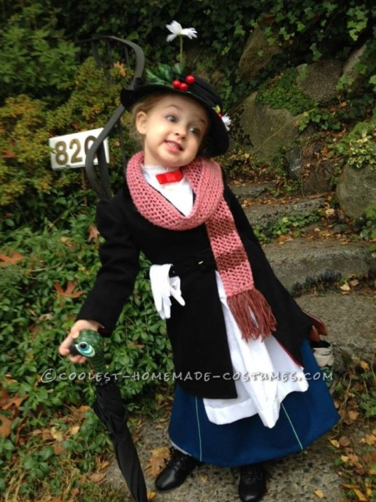 mini mary poppins halloween costume diy kids costume - Halloween Costumes Diy Kids