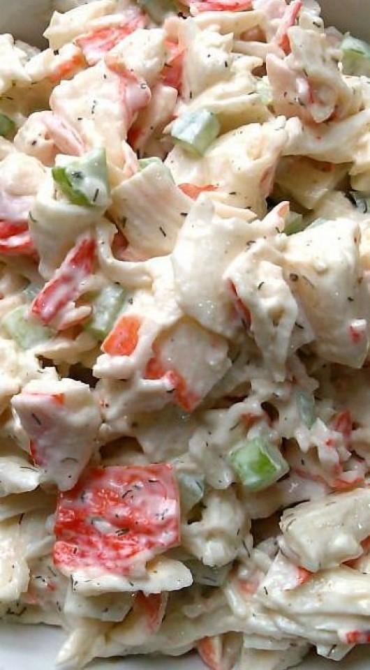 recipe: easy shrimp and crab pasta salad [30]