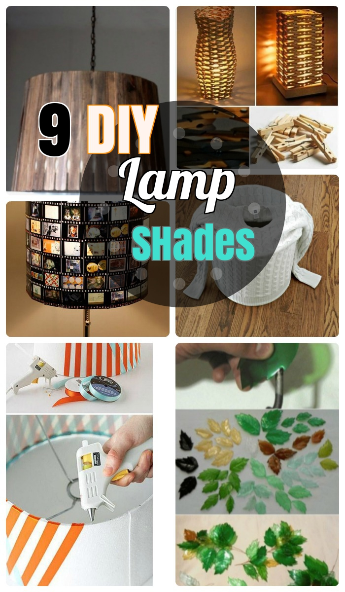 9 Incredibly Striking DIY Lamp Shade Ideas for your House