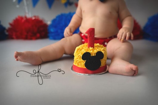 Mickey Mouse Body Cake