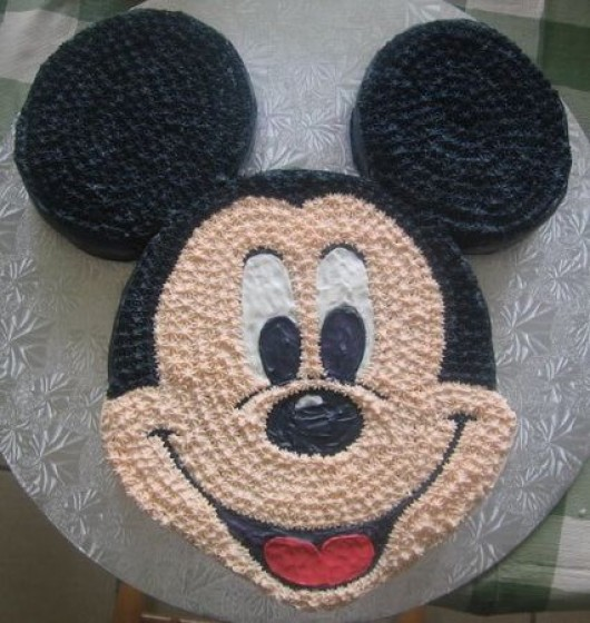 Pictures Of Mickey Mouse Face Cakes : Some Awesome Birthday Party Ideas over the Mickey Mouse ...