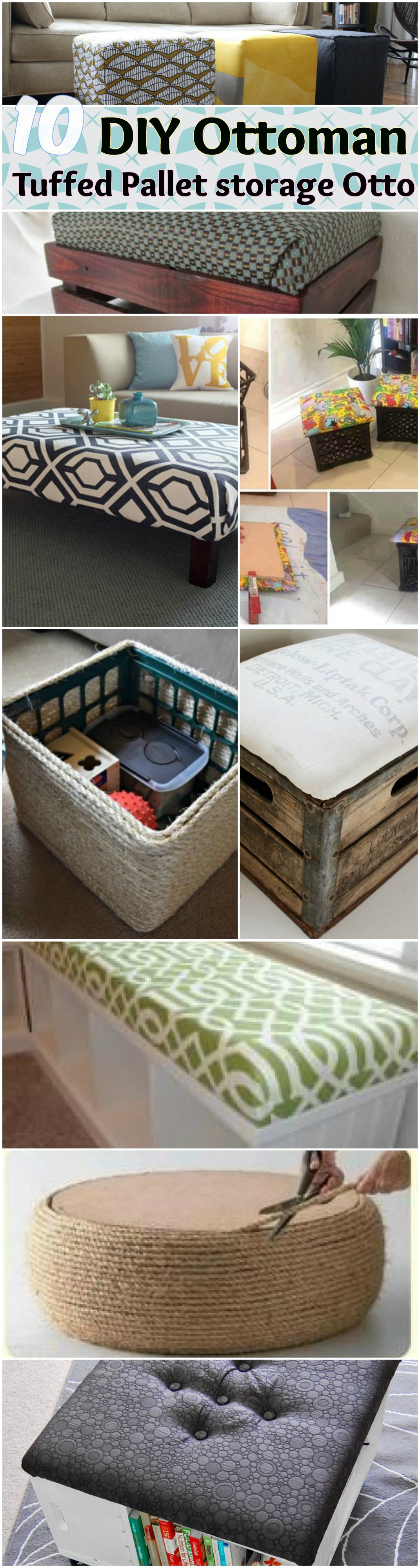Pleasing 15 Diy Storage Ottoman Ideas Frugal Ways With Recycle Pdpeps Interior Chair Design Pdpepsorg