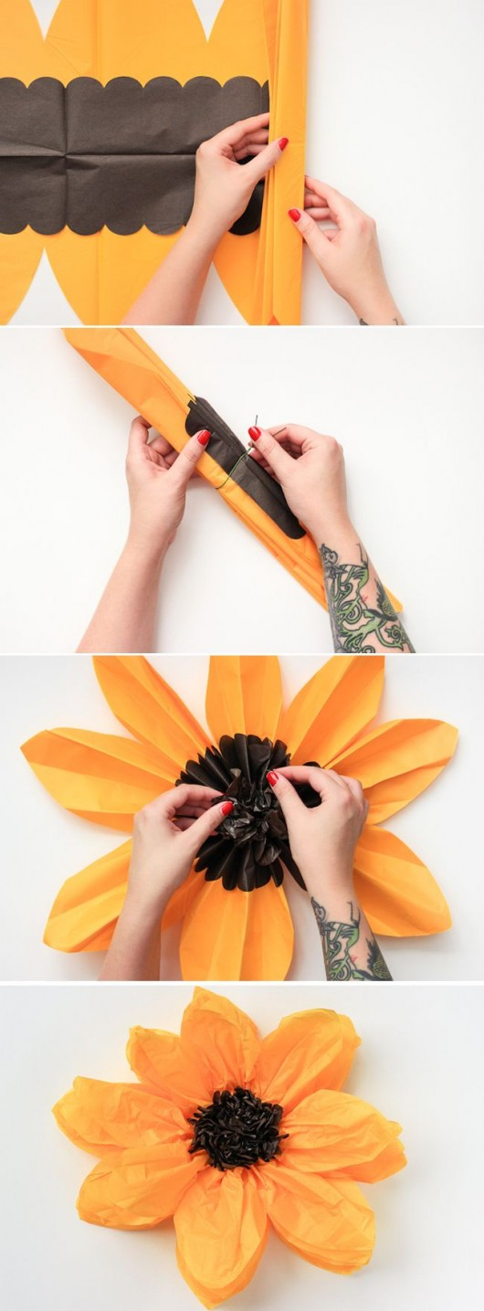 12 step by step diy papers made flower craft ideas for kids diy paper flower craft mightylinksfo