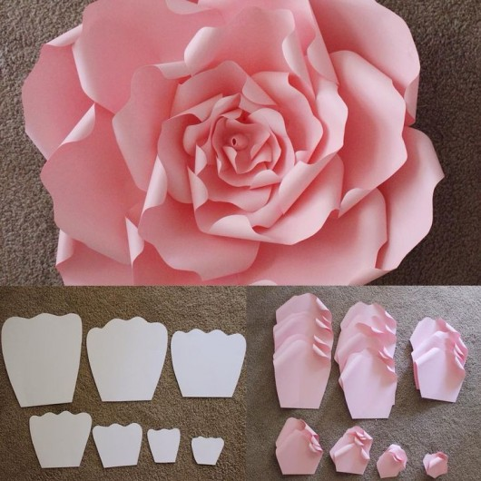 12 step by step diy papers made flower craft ideas for kids diy beautiful rose flower paper craft idea mightylinksfo
