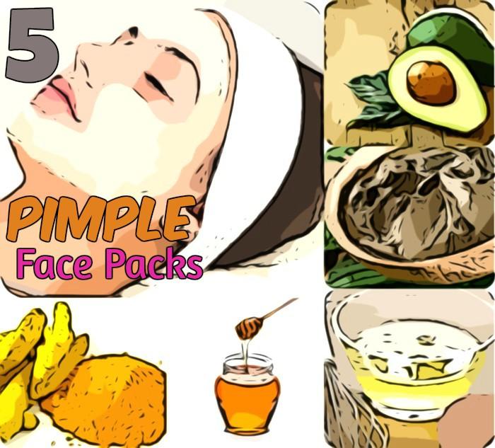 pimple face packs