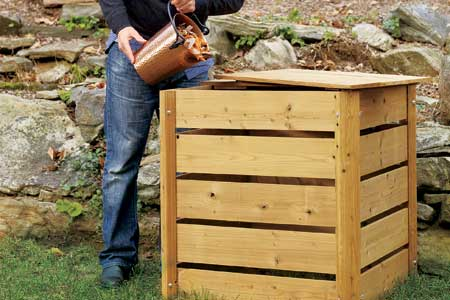 Compost bin why to use and materials for compost