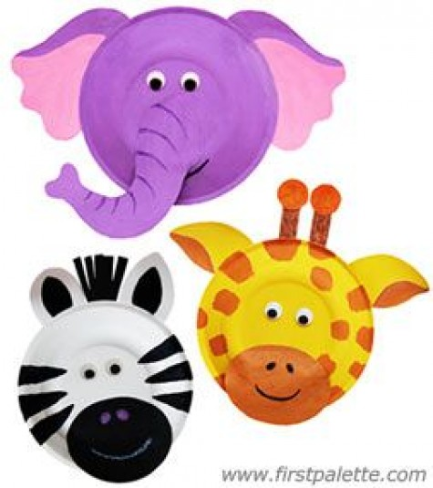 Paper Plate Masks Animals 20 Paper Plate Animal Crafts For Kids