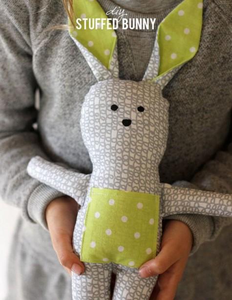 DIY-Animal-toys-sock-bunny