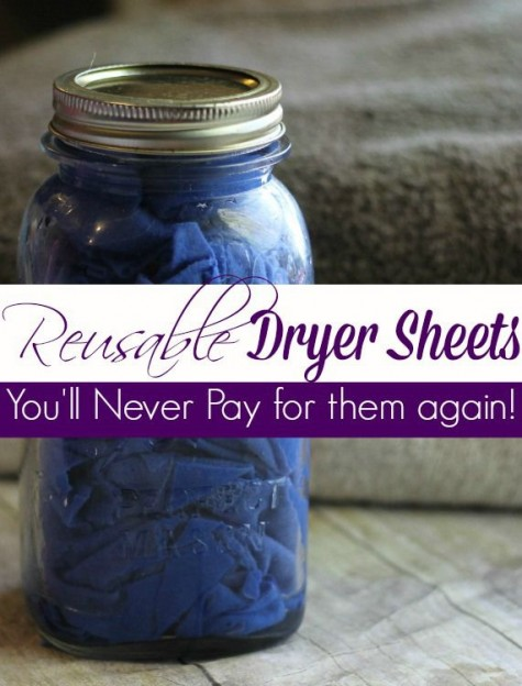 12 Diy Homemade Dryer Sheets - Diy Craft Ideas & Gardening