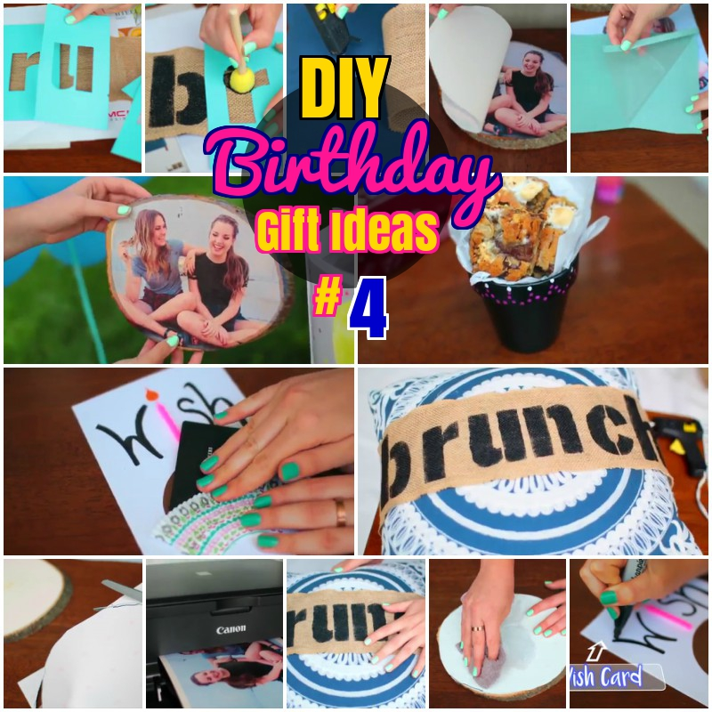 DIY Easy Birthday Gift Ideas for Friends