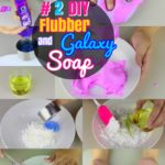 DIY Soap Crafts: #2 How to Make Squishy Flubber and Galaxy Homemade Soaps