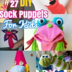 27 DIY Sock Toys: How to Make Sock Animal Puppets for kids