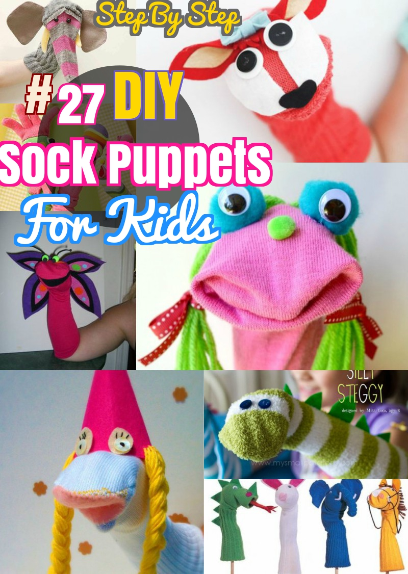 image about Free Hand Puppet Patterns Printable referred to as 40 Do-it-yourself Sock Animal Toys: Cost-free Sewing Behavior for Plushies