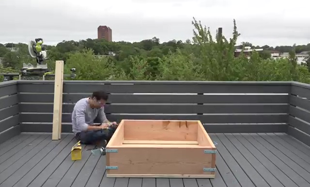 DIY Raised Bed Garden Wooden Planter Boxes
