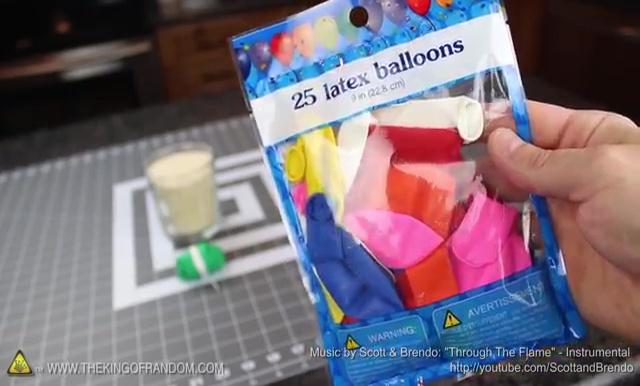 DIY How to make Parachute flying Sky balls (3)