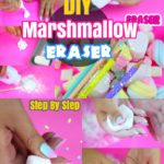 DIY Back to School Crafts: How to Make Marshmallow Eraser for Kids