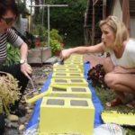 DIY Garden Ideas: Garden Arch and Bench Ideas for an Organized Backyard