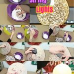 DIY Room Decor : How to Make Pendant String Lights Yarn Orb Lamps