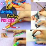 DIY Bending Pencil : How to Make Stretchy Pencils