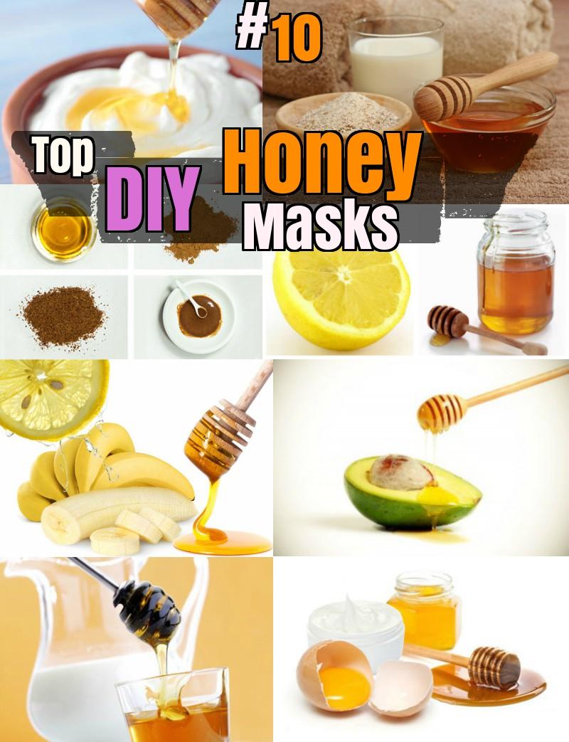 DIY Top 10 Homemade Honey Face Masks