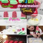 DIY Summer Treats: #3 Watermelon Cookies Cupcakes & Popsicle Recipes
