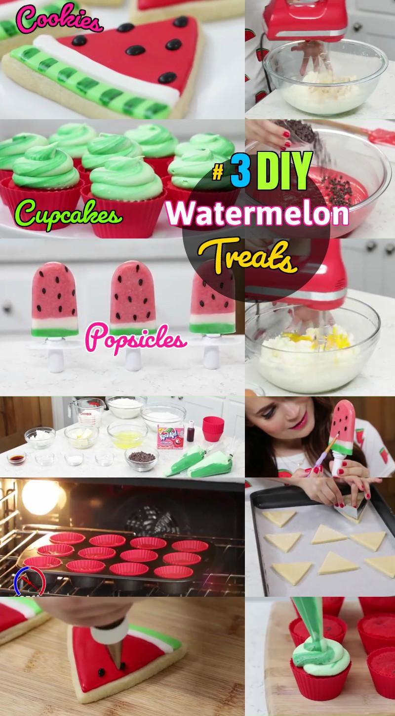 DIY Watermelon Summer Treat Recipes