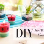 DIY Candle Crafts: How to Make a Fragrant Watermelon Candle