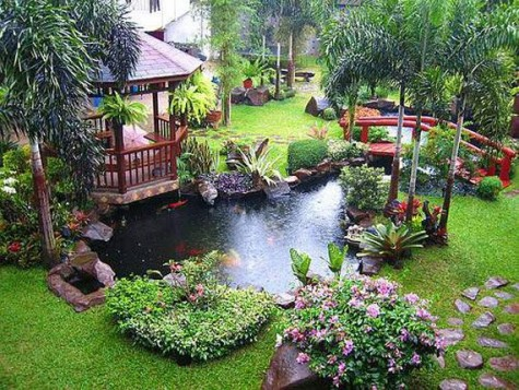 DIY Craft Ideas \u0026 Gardening : building backyard pond - amorenlinea.org