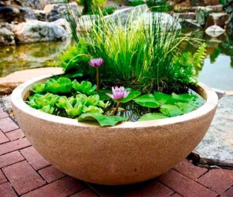 Diy water garden ideas 54 pond garden ideas and design for Diy garden pool