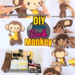 DIY Sock Animals:#50 Steps How to Make an Adorable Sock Monkey Toy