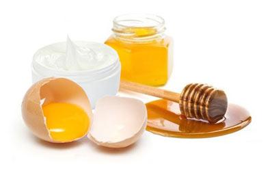 Egg Honey Face mask
