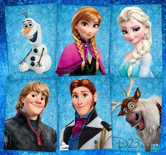Frozen characters diy craft ideas gardening - Personnages reine des neiges ...