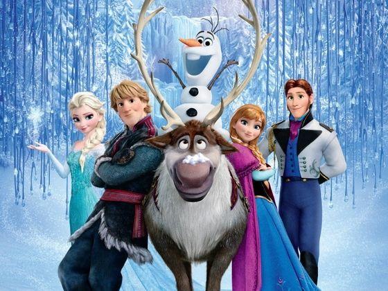 Frozen characters frozen movie characters