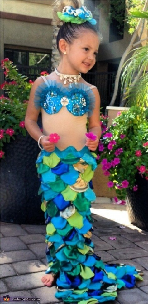 72 DIY Mermaid Ideas : Mermaid Costumes Coloring pages Dresses and ...