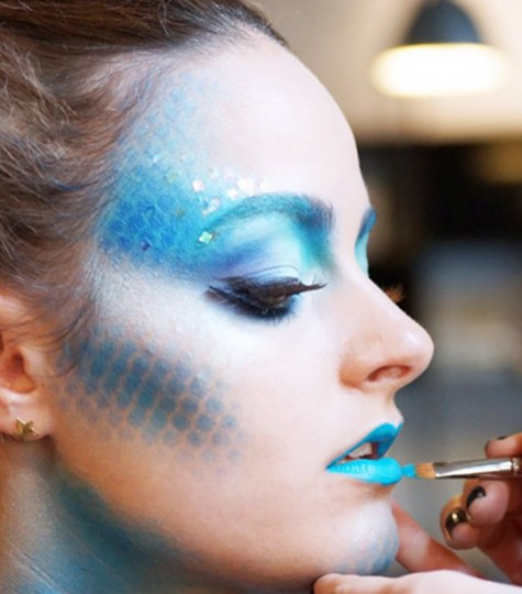 Mermaid-Costume-Makeup-Ideas