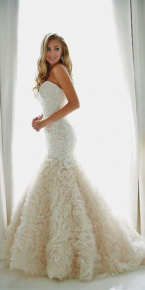 Mermaid Bridal Hairstyle